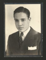 Russell High School portrait of Bob Dole