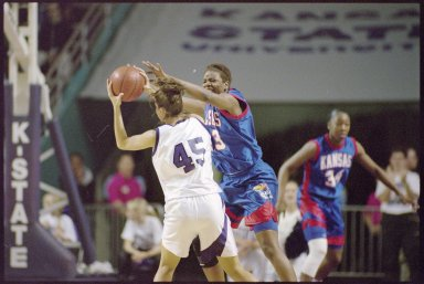 University of Kansas Women's Basketball Game vs. Kansas State University