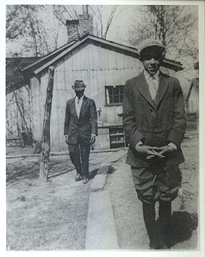Langston Hughes and James W. Reed