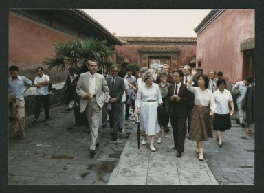 Senator Bob Dole and colleagues tour Forbidden City, People's Republic of China
