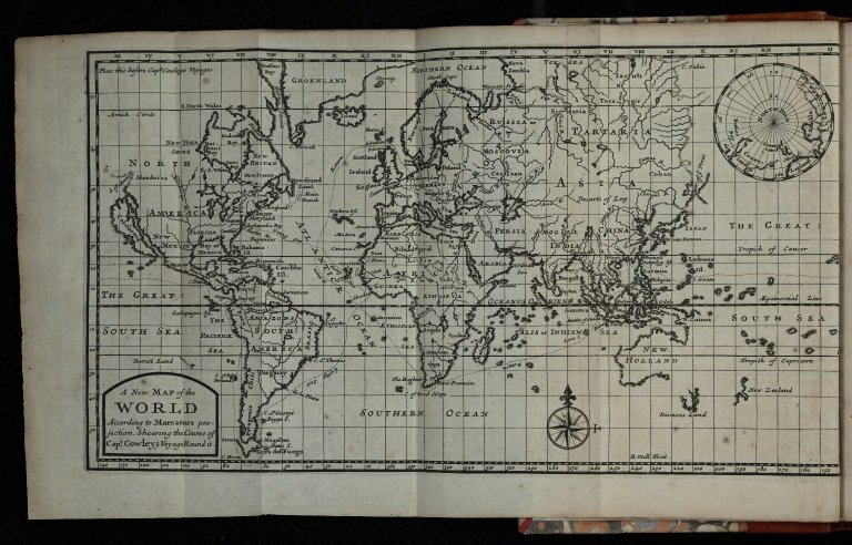 A Collection of original voyages ... illustrated with several maps and draughts / published by Capt. William Hacke.