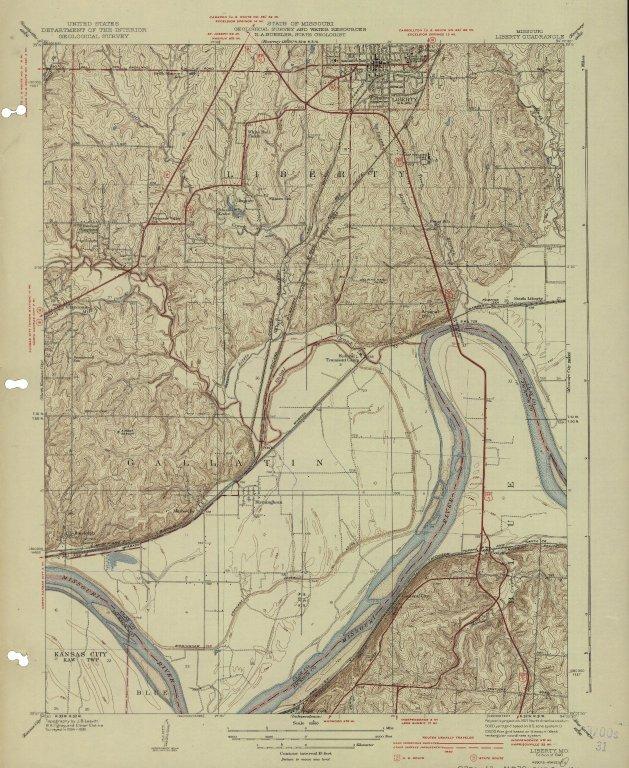 [Missouri, Liberty quadrangle, Liberty, Mo.]