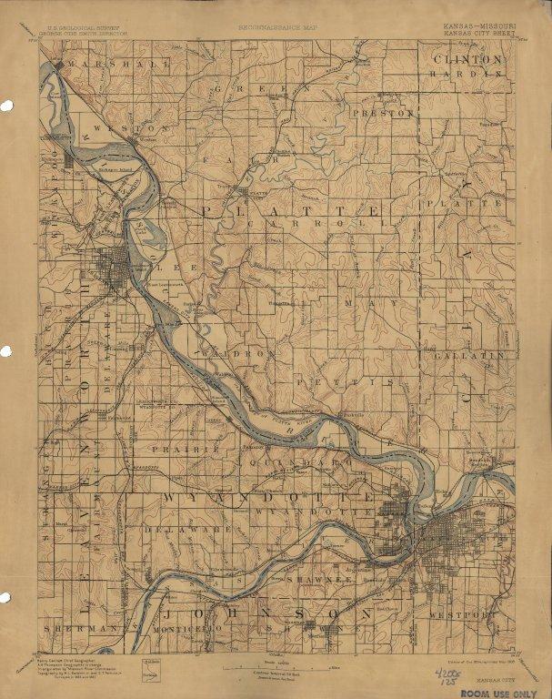 [Kansas - Missouri, Kansas City sheet, Kansas City]