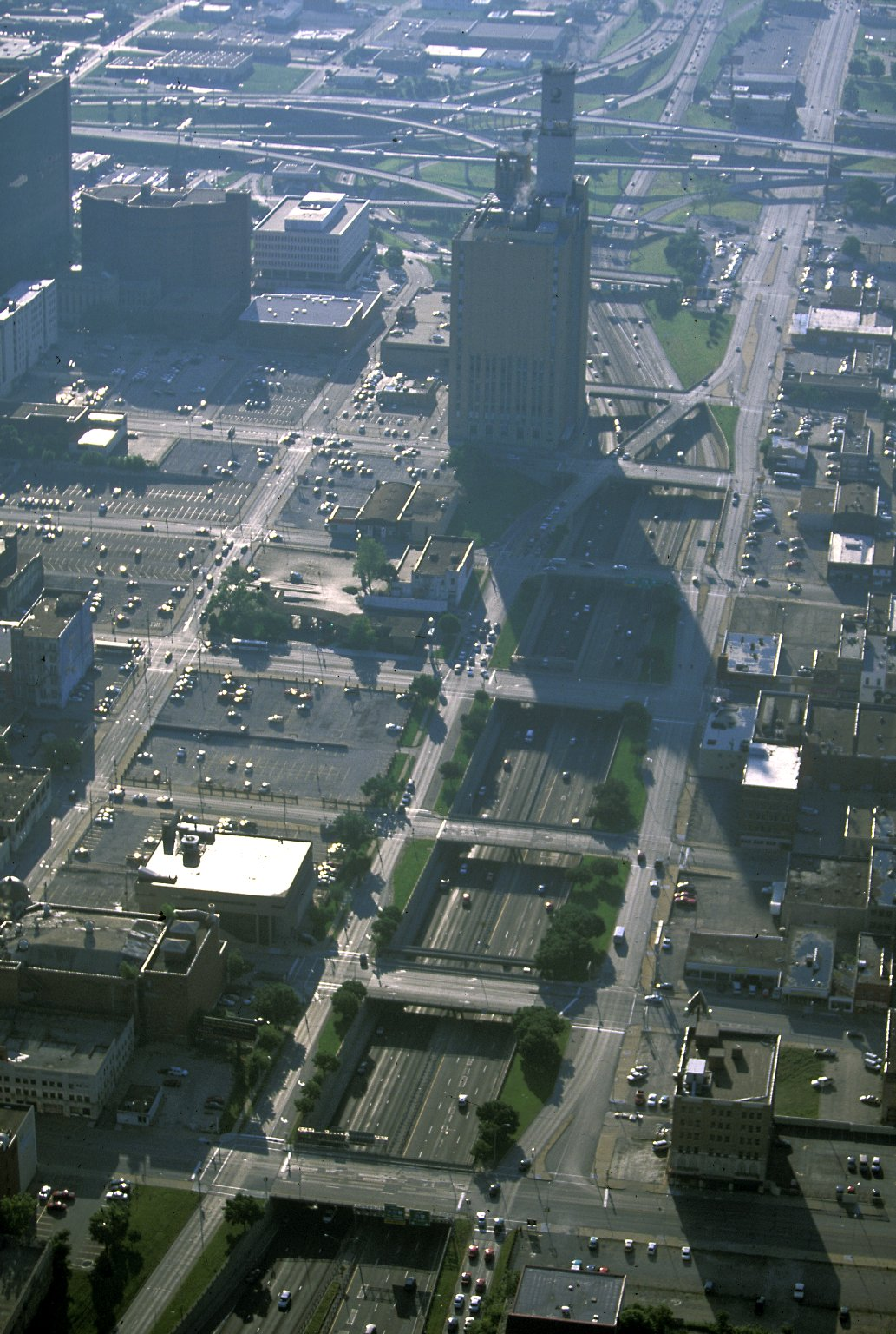 Downtown Kansas City, Missouri - south side of loop, AT and T building