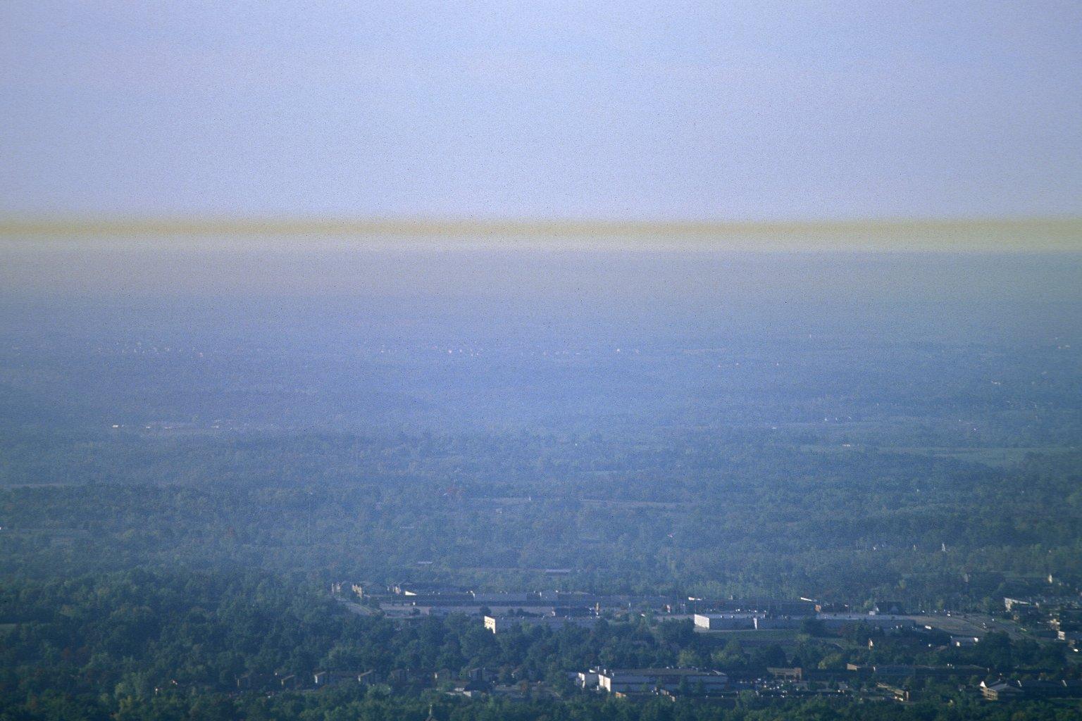 Smog over Kansas City