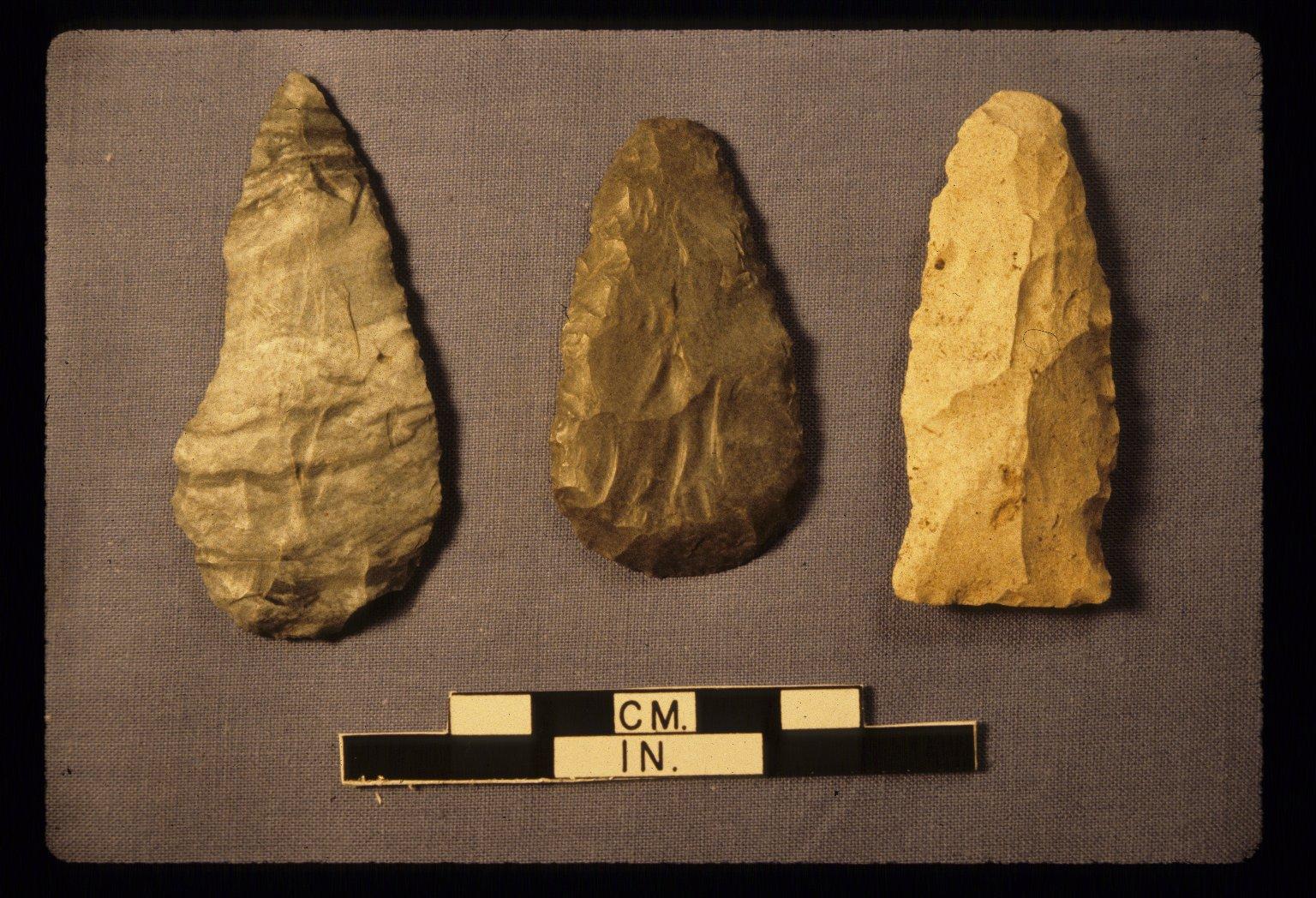 Bifacial tools, Zacharias site, 14LV380