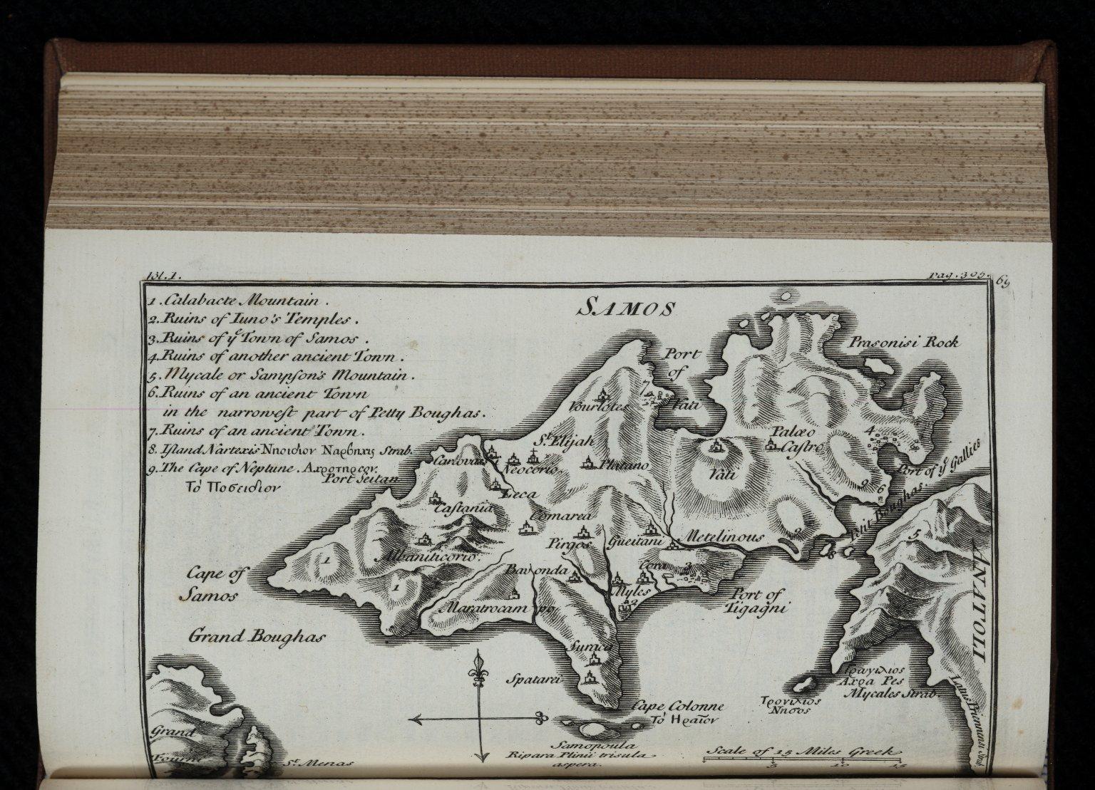 Relation d'un voyage du Levant. English.