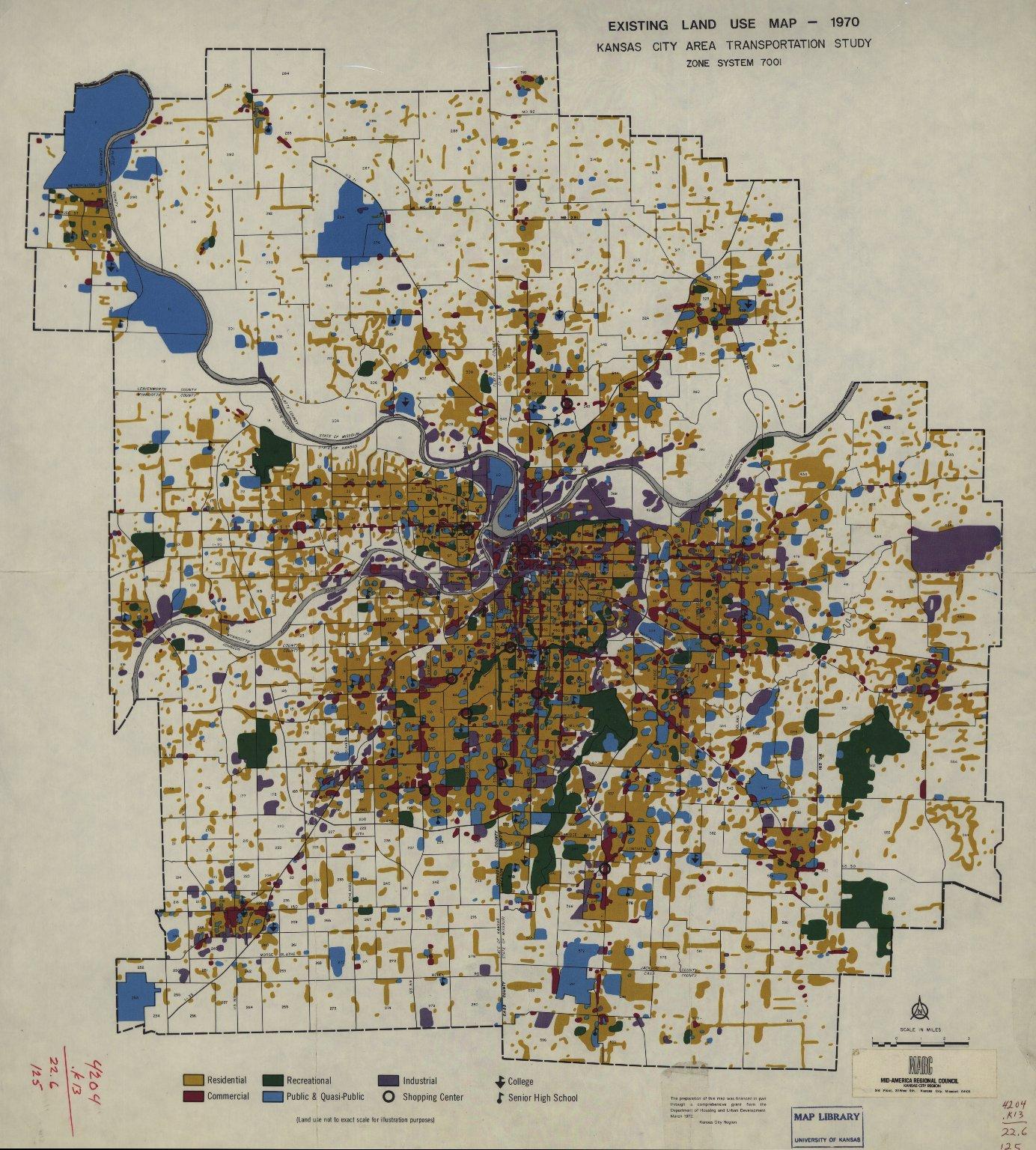 Kansas City area transportation study